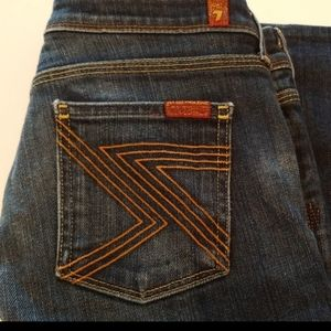 7 For All Mankind Flynt Jean's Size 26